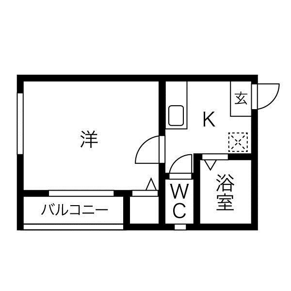洋室6帖 ロフト6帖