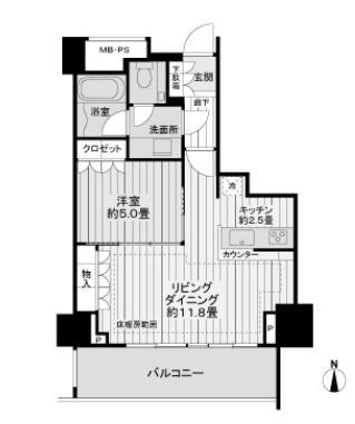 プラウドタワー覚王山 0801 禁煙