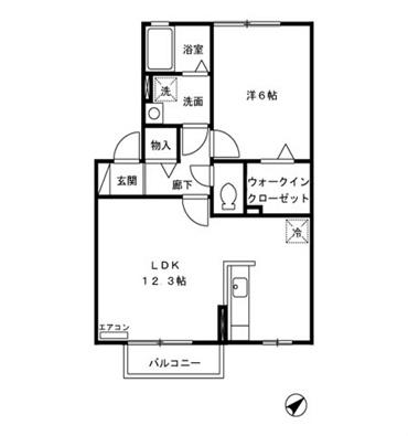 LDK12.3帖 洋室6.0帖