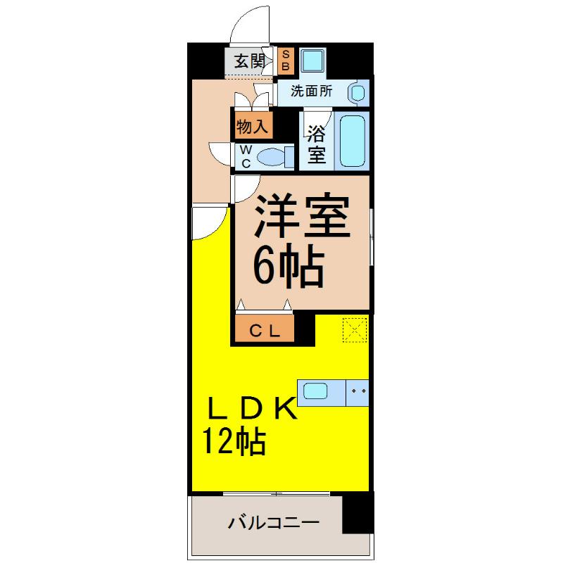 プレサンス丸の内雅風 Bタイプ(プレサンスマルノウチガフウ)