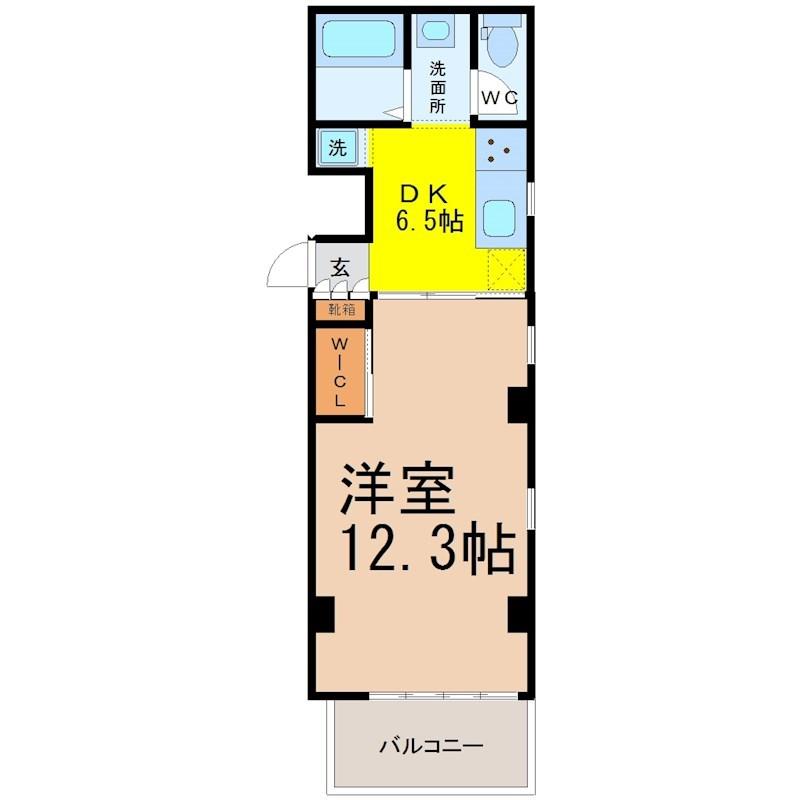 DK6.5帖 洋室12.3帖