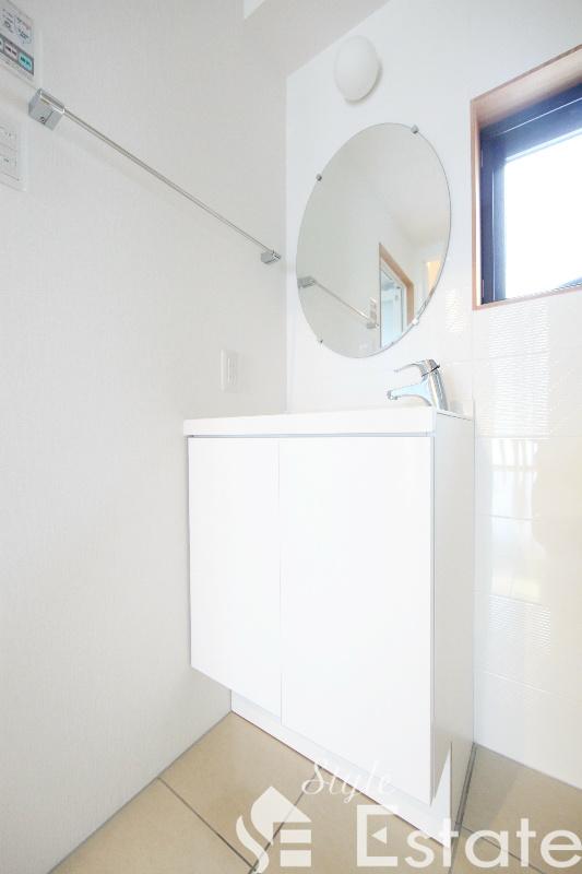 洗面脱衣所 独立洗面台