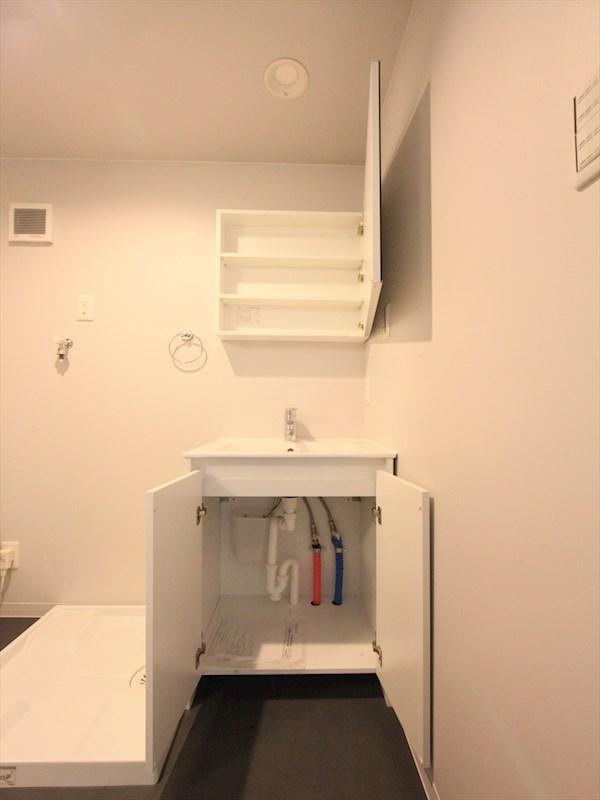 洗面台収納 同仕様写真