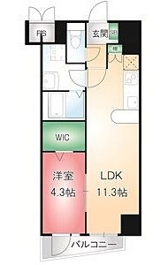 LDK11.3帖 洋室4.3帖