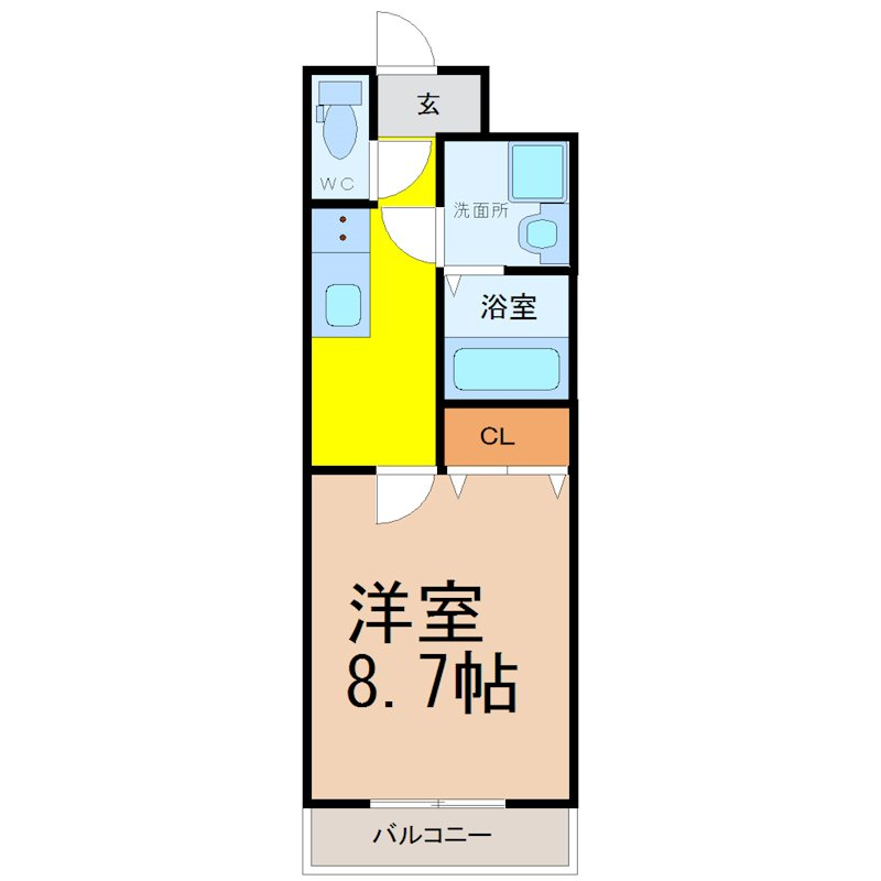 CENT FORCE YOBITSUGI 北棟