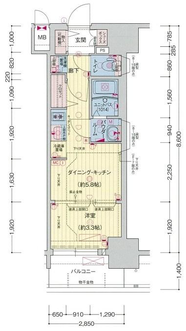 プレサンスジェネ新栄町駅前葵
